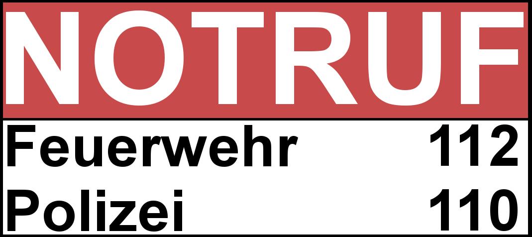 Notrufnummern Dortmund